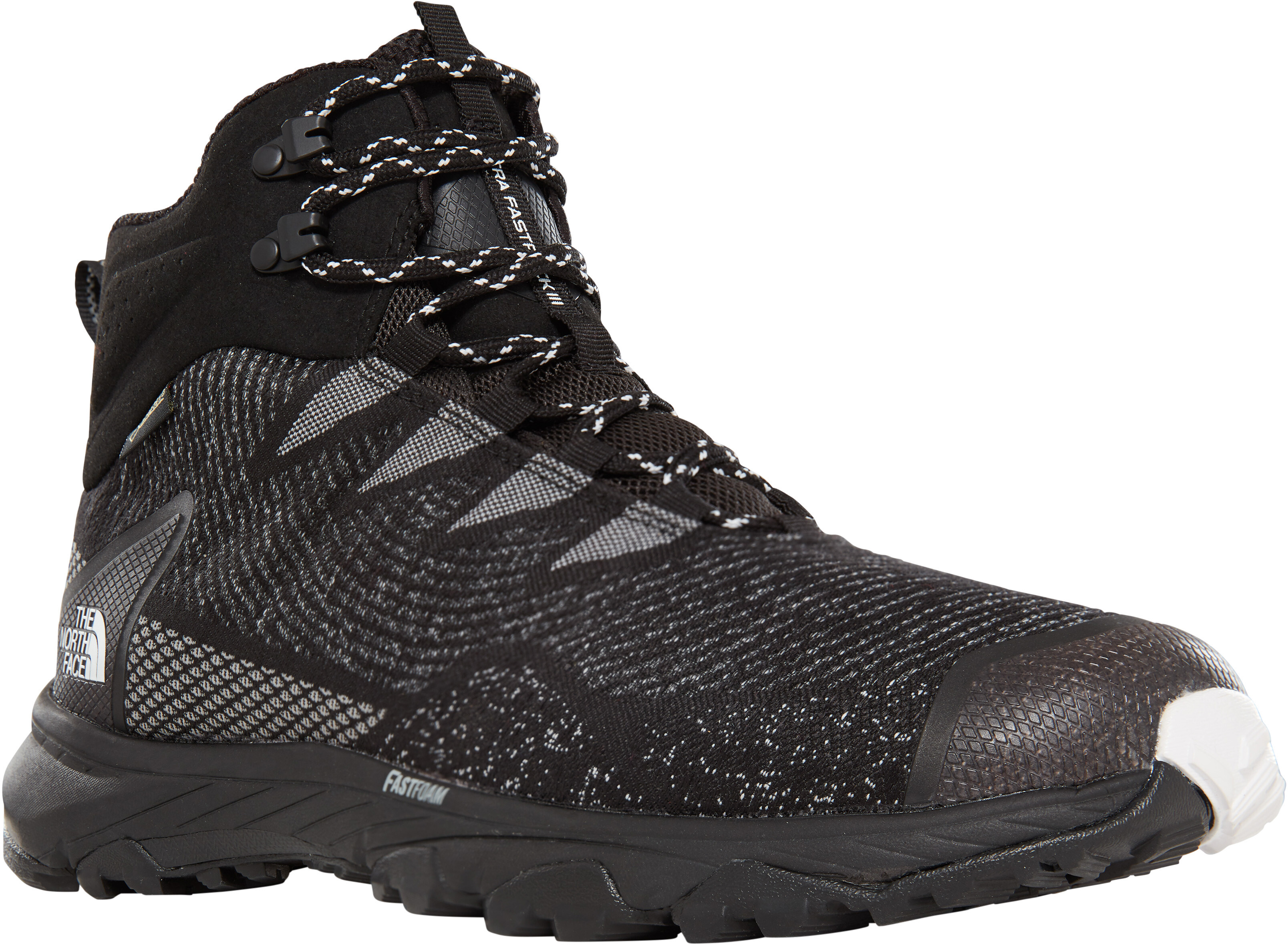a3fcfcc393 The North Face Ultra Fastpack III Mid GTX Woven Shoes Men tnf black/tnf  white